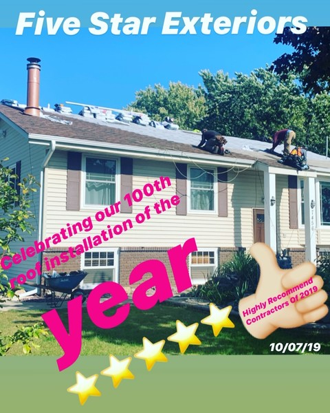 2019's 100th Roof Installation in Coon Rapids MN (1)